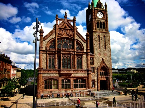 The Guild Hall, Downtown Derry