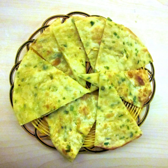 Baked Scallion Pancake